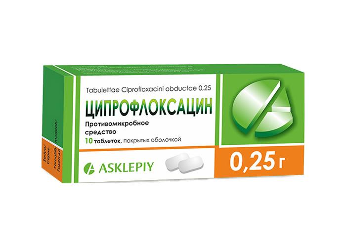 Ципрофлоксацин простатит курс простатит с выделением