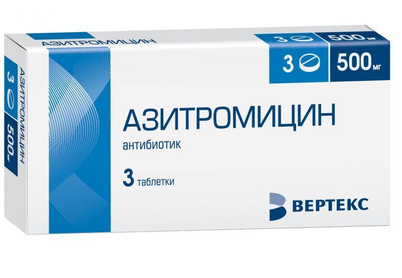 Применение Азитромицина при простатите