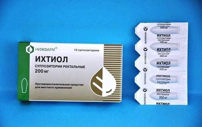 Эффективность ихтиоловых свечей в лечении простатита