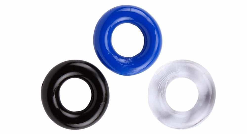 Эластичное кольцо для массажа полового члена