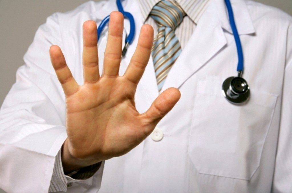 врач запрещает