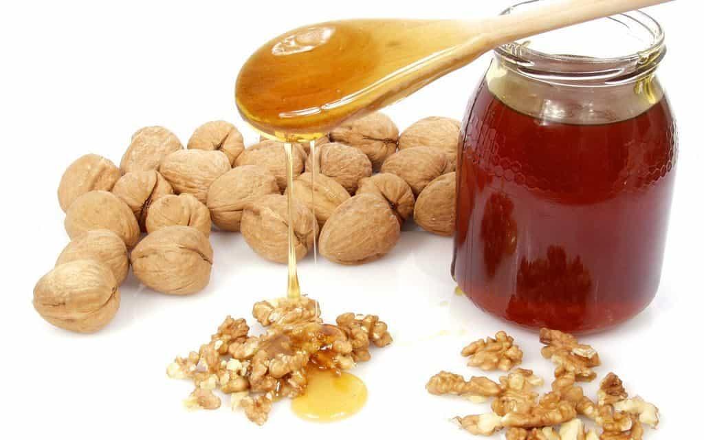 Орехи с медом для потенции