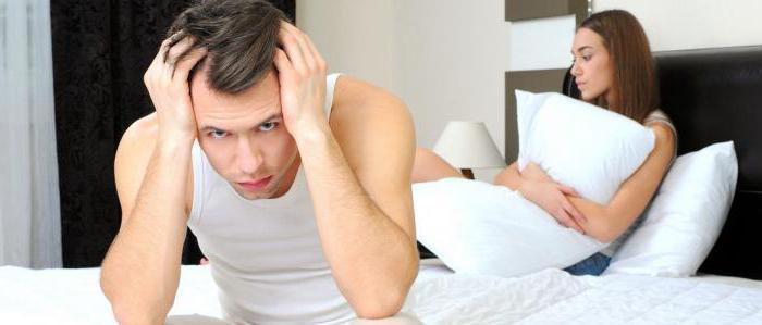 Отчего падает член во время секса